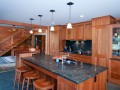 Craftsman style kitchen island