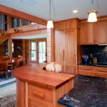 Contemporary Craftsman style kitchen