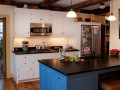 Signature Custom Cabinetry painted kitchen